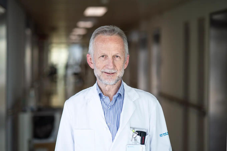 Roland Kunz, Palliativpionier und Chefarzt der Akutgeriatrie am Zürcher Stadtspital Waid